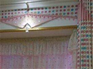 儋州那大华纺布艺窗帘直销加工安装