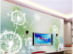 制作安装各种冰晶画冰晶电视背景墙