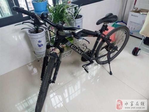 出售7成新二手自行车(捷安特770)一辆