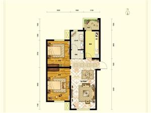 东都汇L户型两室一厅一卫93�O