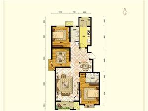 东都汇C户型三室两厅两卫121�O