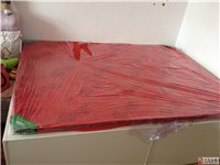 自己买木较料自己打的双人床低价转让