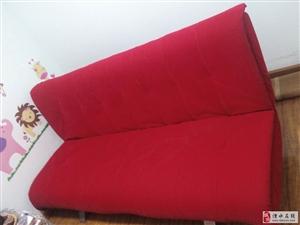 出售9成新沙发床一张