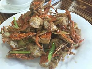 新潭门海鲜螃蟹
