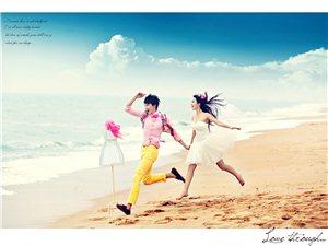 沙滩  大海  蓝天