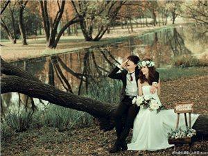 唯美户外婚纱照