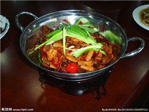 干锅鸵鸟肉
