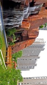 融�x城二期假山�L景