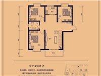 A户型三室两厅一卫115.93—120.